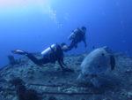 ハワイの沈没船ダイビング