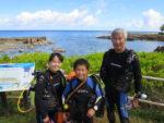 ハワイノースショアでダイビング