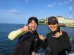 優子さん&ゆきえさんのハワイダイビングツアー