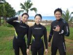 ハワイでダイビングツアー
